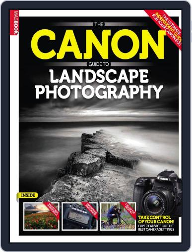 The Canon Guide to Landscape Photography Magazine (Digital) May 22nd, 2014 Issue Cover