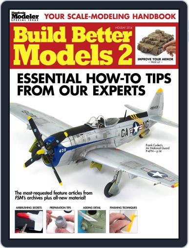 Build Better Models 2 Magazine (Digital) November 7th, 2014 Issue Cover