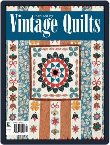Inspired by Vintage Quilts Magazine (Digital) November 3rd, 2014 Issue Cover