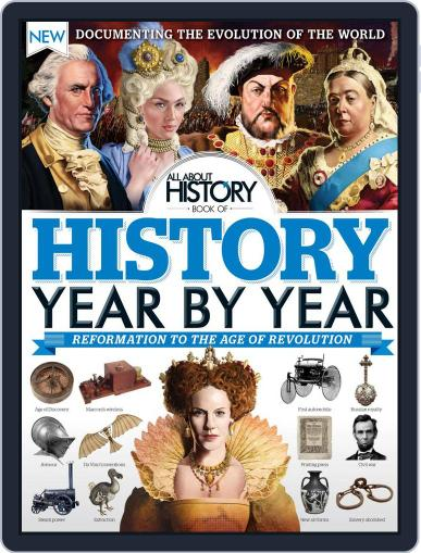 All About History Book of History Year By Year Magazine (Digital) December 1st, 2016 Issue Cover