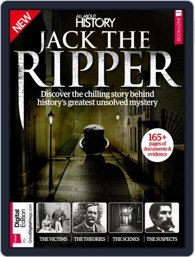 All About History Jack The Ripper Magazine (Digital) March 1st, 2017 Issue Cover