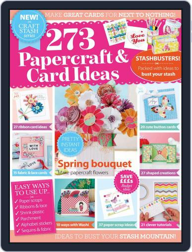 273 Papercraft & Card Ideas Magazine (Digital) June 1st, 2016 Issue Cover