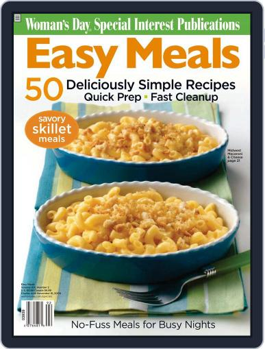 Easy Meals Magazine (Digital) August 5th, 2009 Issue Cover