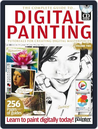 The Complete Guide to Digital Painting Vol. 2 Magazine April 18th, 2012 Issue Cover