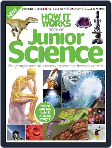 How it Works Book of Junior Science Magazine (Digital) July 1st, 2016 Issue Cover