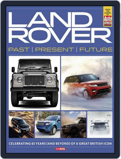 Landrover Past, Present and Future Magazine (Digital) May 13th, 2013 Issue Cover