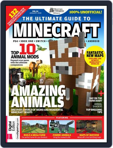 The Ultimate Guide to Minecraft! Magazine (Digital) January 1st, 2018 Issue Cover