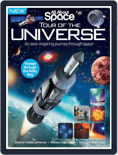 All About Space Tour of the Universe Magazine (Digital) September 1st, 2016 Issue Cover