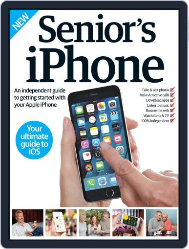 Senior's Edition: iPhone Magazine (Digital) September 1st, 2016 Issue Cover