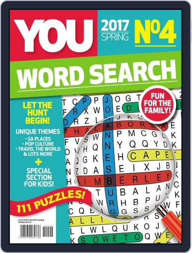 YOU Word Search Magazine (Digital) August 22nd, 2017 Issue Cover