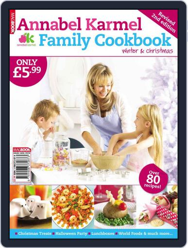Annabel Karmel Family Cookbook Winter and Christmas 2009 Magazine (Digital) February 1st, 2010 Issue Cover