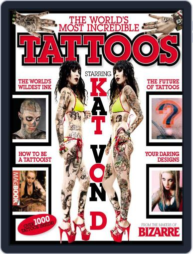 Bizarre: The World's Most Incredible Tattoos Magazine (Digital) July 28th, 2010 Issue Cover