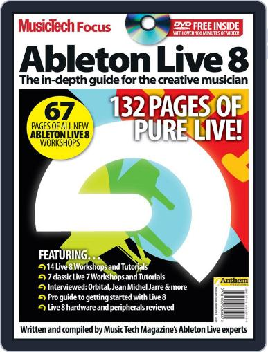 Music Tech Focus: Ableton Live 8 Magazine (Digital) January 12th, 2011 Issue Cover
