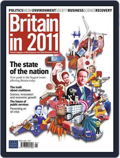 Britain in 2011 Magazine (Digital) December 15th, 2010 Issue Cover
