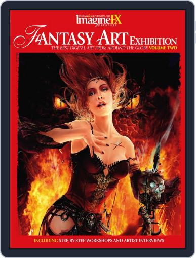 Fantasy Art Exhibition: Volume 2 Magazine (Digital) February 16th, 2011 Issue Cover