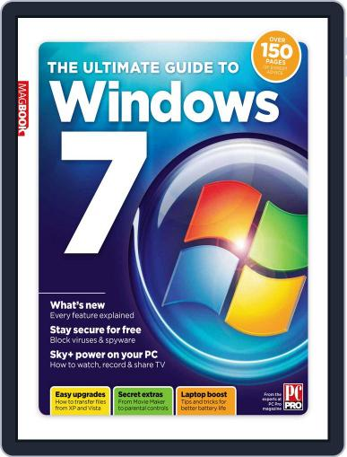 The Ultimate Guide to Windows 7 Magazine (Digital) April 1st, 2011 Issue Cover