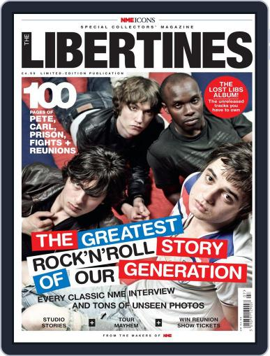 NME Icons: The Libertines Magazine (Digital) August 16th, 2011 Issue Cover