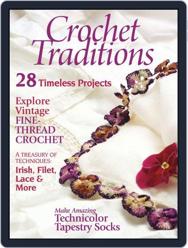 Crochet Traditions Magazine (Digital) August 1st, 2012 Issue Cover