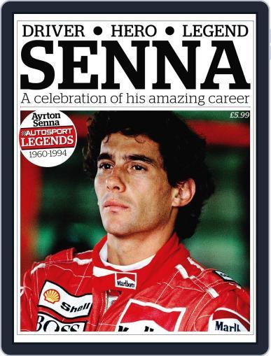 Autosport Legends:Ayrton Senna Magazine (Digital) October 12th, 2011 Issue Cover