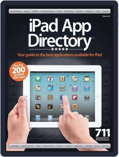 iPad App Directory Vol. 3 Magazine (Digital) April 1st, 2012 Issue Cover