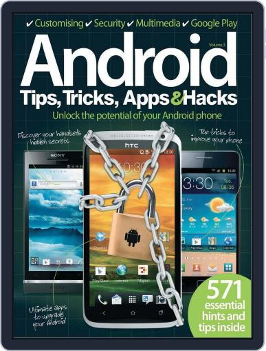 Android Tips, Tricks & Apps Vol 3 Magazine (Digital) May 21st, 2012 Issue Cover