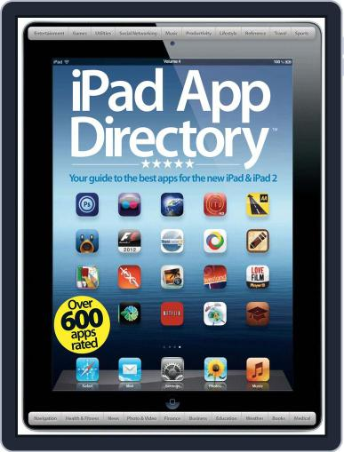 iPad App Directory Vol 4 Magazine (Digital) May 25th, 2012 Issue Cover
