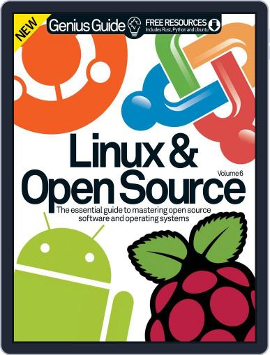 Linux & Open Source Genius Guide Magazine (Digital) December 17th, 2014 Issue Cover