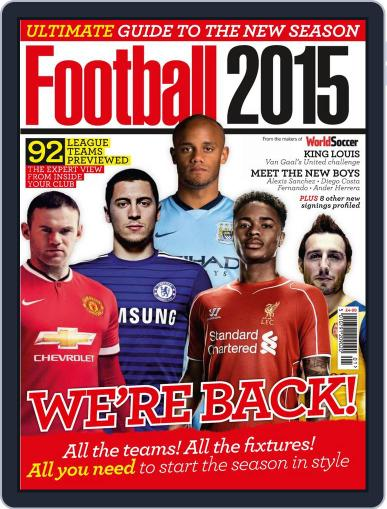 Football 2015 Magazine (Digital) September 5th, 2014 Issue Cover