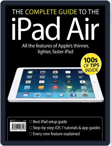 The Complete Guide to the iPad Air Magazine (Digital) December 18th, 2013 Issue Cover