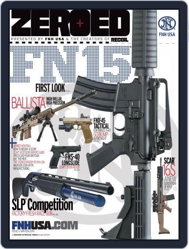Zeroed Magazine (Digital) December 31st, 2013 Issue Cover