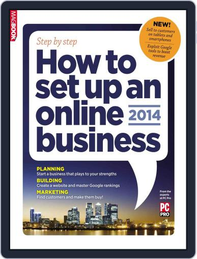 How to set up an online business 2014 Magazine (Digital) January 16th, 2014 Issue Cover