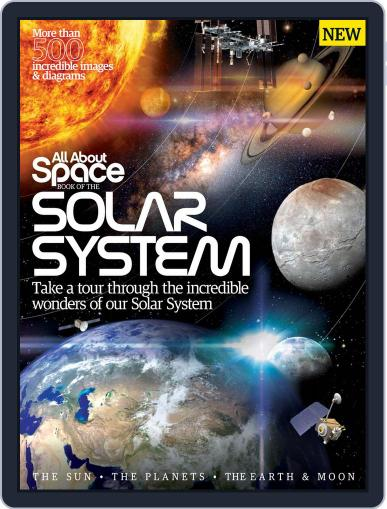All About Space Book of the Solar System Magazine (Digital) January 1st, 2016 Issue Cover