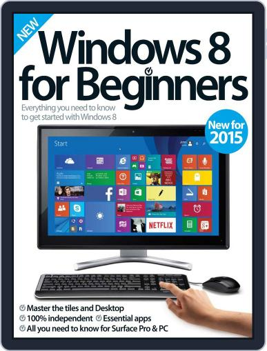 Windows 8 For Beginners Magazine (Digital) February 18th, 2015 Issue Cover