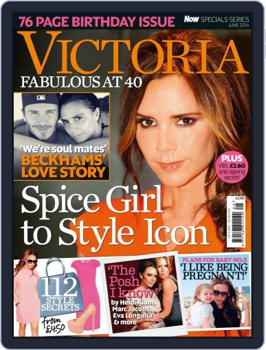 Victoria: Fabulous at 40 Magazine (Digital) April 7th, 2014 Issue Cover