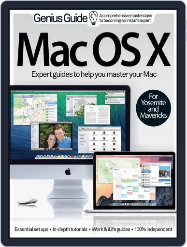 Mac OS X Genius Guide Volume 1 Magazine (Digital) August 13th, 2014 Issue Cover
