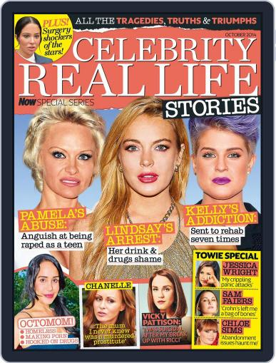 Celebrity Real Life Stories Magazine (Digital) September 9th, 2014 Issue Cover