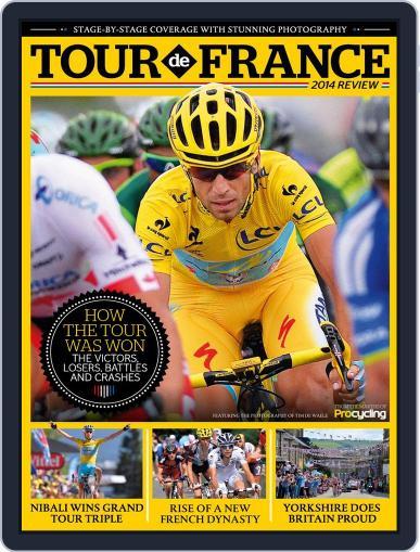 Tour de France 2014 Review Magazine (Digital) September 15th, 2014 Issue Cover