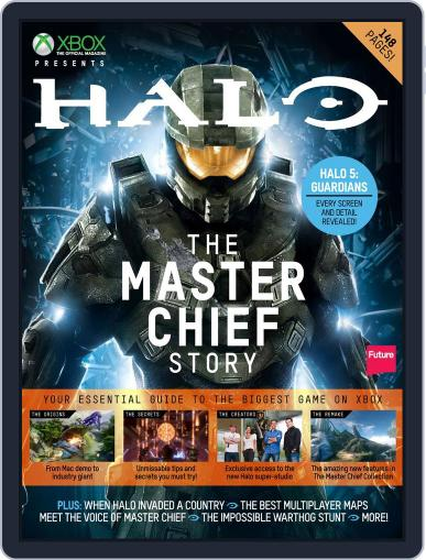 Halo: The Master Chief Story Magazine (Digital) October 8th, 2014 Issue Cover