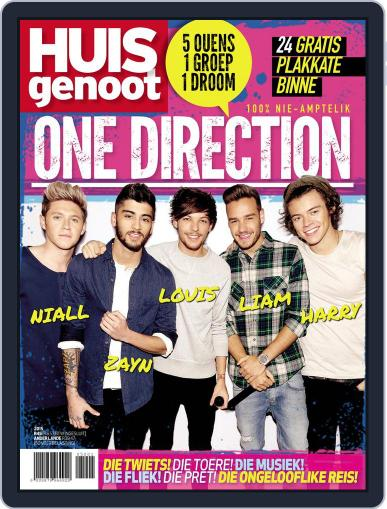 Huisgenoot One Direction Magazine (Digital) February 1st, 2015 Issue Cover