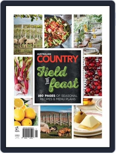 Australian Country Cookbook Magazine (Digital) April 20th, 2015 Issue Cover