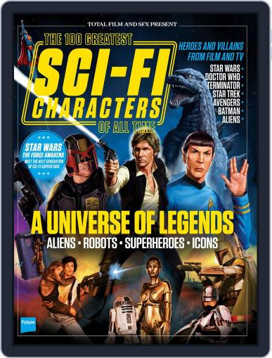 100 Greatest Sci-Fi Characters Magazine (Digital) June 30th, 2015 Issue Cover