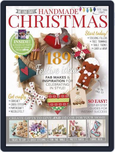 Handmade Christmas Magazine (Digital) September 30th, 2015 Issue Cover