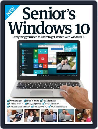 Senior's Edition Windows 10 Magazine (Digital) October 1st, 2016 Issue Cover