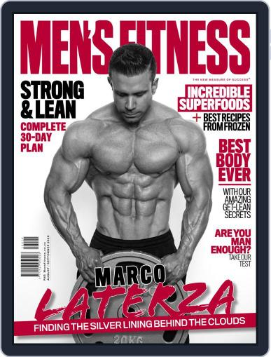 Men's Fitness South Africa Magazine (Digital) August 1st, 2020 Issue Cover