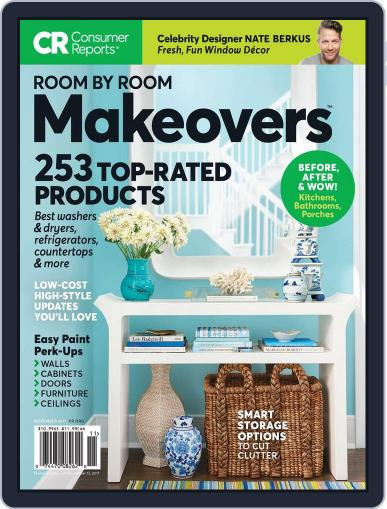 Room by Room Makeovers Magazine (Digital) November 1st, 2017 Issue Cover