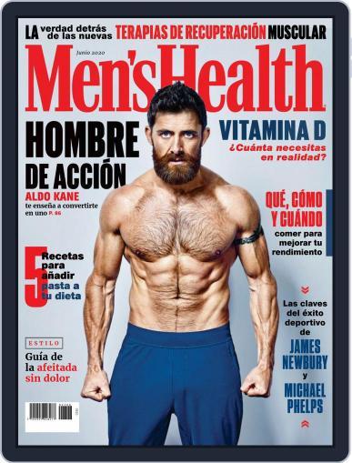 Men's Health  México (Digital) June 1st, 2020 Issue Cover