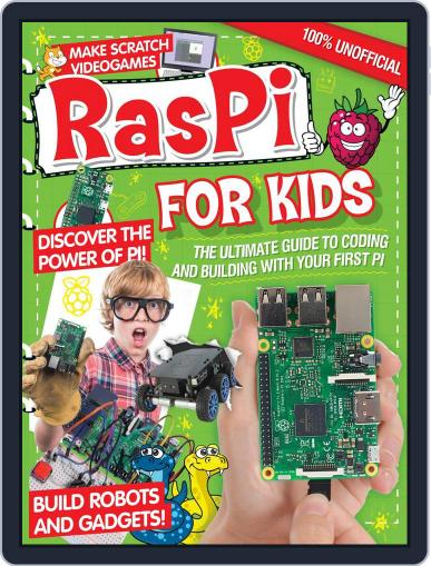 Raspberry Pi For Kids Magazine (Digital) September 30th, 2016 Issue Cover