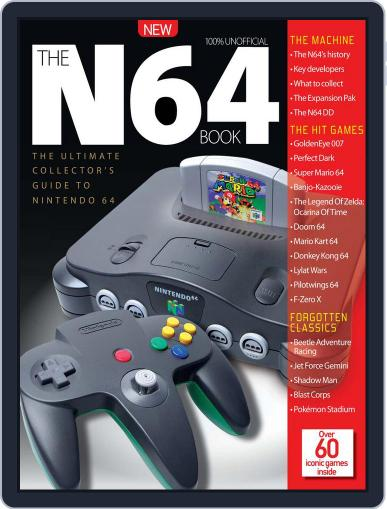 The N64 Book Magazine (Digital) September 30th, 2016 Issue Cover