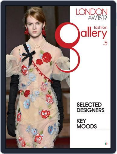 FASHION GALLERY LONDON (Digital) December 1st, 2018 Issue Cover