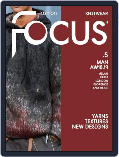 FASHION FOCUS MAN KNITWEAR (Digital) September 1st, 2018 Issue Cover
